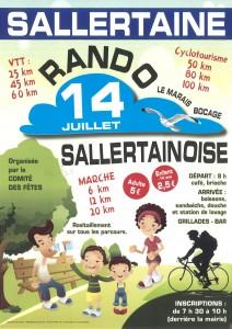 Rando Sallertainoise @ départ salles 1 et 2 | Sallertaine | Pays de la Loire | France
