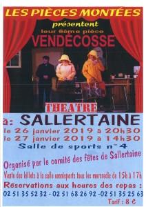 Théâtre : Vendécosse @ salle 4