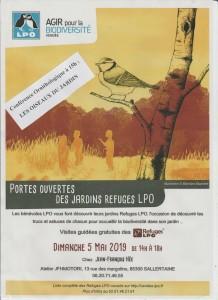 Portes ouvertes et Conférence ornithologique @ Atelier JFHMotori