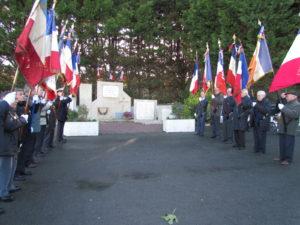 Cérémonie commémorative @ Monument aux morts