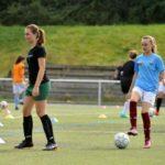 Match de foot féminin