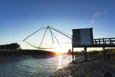 Beauvoir sur Mer, pêche au carrelet