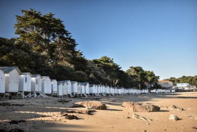 Noirmoutier, plage du Bois de la Chaise