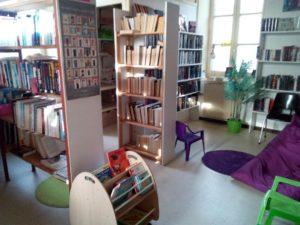 Bibliothèque Sallertaine